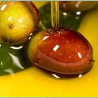 Olive oil contains oleic acid and oleocanthal, and is rich in omega-3 fatty acids. These components are anti-inflammatory and oleocanthal works as a COX inhibitor (which means they can reduce inflammation in the same biochemical pathway by which aspirin works).