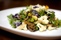 Cruciferous vegetables, such as: broccoli, cauliflower, cabbage, kale, and brussel sprouts, are rich in antioxidants, anti-microbials, Indole-3-Carbinol, glucosinolates, and sulforaphanes. The later 3 compounds can slow cancer growth and development, and are known to modulate hormone metabolism in the body.